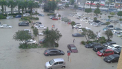 Flood in front on IOI Mall, Puchong. Source: @GengBBM