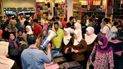 Muslims shop even after Raya
