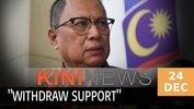 #KiniNews: Puad urges BN MPs to withdraw support from Muhyiddin as PM