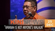 #KiniNews: Amanah members are not fanatical followers of anyone, says Salahuddin
