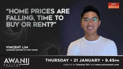 AWANI Review: Home prices are falling, time to buy or rent?