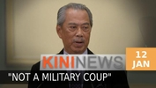 #KiniNews: Civilian gov't will remain, emergency is not a military coup, says Muhyiddin