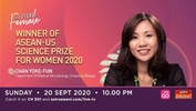 The Future is Female: Winner of ASEAN-US Science Prize for Women 2020