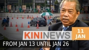 #KiniNews: PM announces MCO for six states from Jan 13