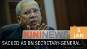 #KiniNews: Annuar Musa sacked as BN sec-gen
