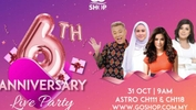 Go Shop 6th Anniversary Live Party sempena ulang tahun Go Shop