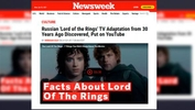 Filem adaptasi The Lord of the Rings 'hilang' 30 tahun lalu dimuatnaik di YouTube